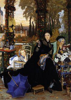 James Tissot - A Widow, 1868