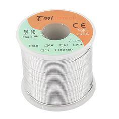 [Visit to Buy] Welding Iron Wire Reel 400g FLUX 1.8% 1mm 63/37 Tin Lead Line Rosin Core Flux Solder Soldering Wire Roll #Advertisement