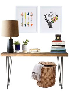 Three TIPS on How to Style the PERFECT Console Table!  I so needed this easy design information.  Delineateyourdwelling.com