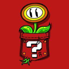 Shop Pocket Flower super mario t-shirts designed by JakGibberish as well as other super mario merchandise at TeePublic. Geeks, Art Hama, Idee Baby Shower, Super Mario Art, Super Mario Brothers, Video Game Art, Retro, Cartoon Art, Geek Stuff