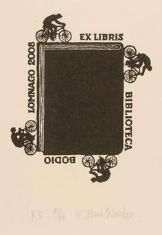 Ex libris by Kazimierc Babkiewicz