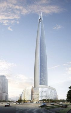 Lotte World Tower - Seoul, S Korea.  Under construction and scheduled for completion in 2016.