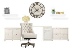 """Guest room/ office"" by hcampbell-1 ❤ liked on Polyvore featuring interior, interiors, interior design, home, home decor, interior decorating, Home Decorators Collection, Pottery Barn, Pier 1 Imports and Cultural Intrigue"