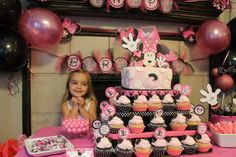 Riley's Pink Minnie Mouse Bash | CatchMyParty.com