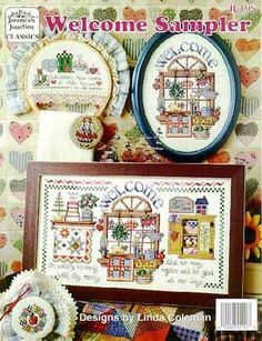 cross stitch country sampler | ... Junction Welcome Sampler - Cross ... | Country Decorating