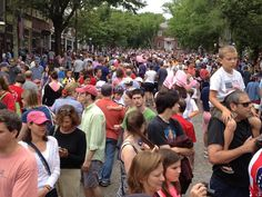 4th of July on Main Street, Nantucket...what a morning!