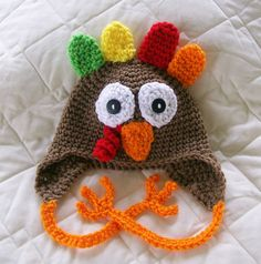 Turkey Hat - Customized  Girl -Preemie-4T/cbbcreations on Etsy, $16.17 CAD