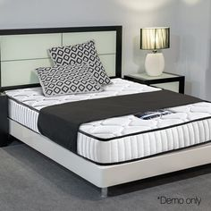 Premium king single size mattress for sale at hr sports with interesting deals. buy a king single mattress at the lowest price online and set up a king-style super single bed Pillow Top Mattress, Queen Mattress, Best Mattress, Foam Mattress, Super Single Bed, King Single Bed, King Size Pillows, Mattress Springs, Bed Sizes