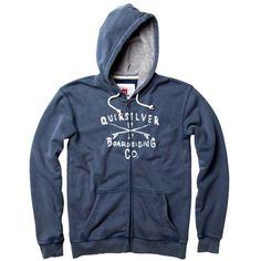 Quiksilver Torpedo Zip Hoody £64.99 Hoody, Zip Hoodie, Men's Hoodies, Sweater Jacket, Sweaters, Jackets, Clothes, Fashion, Down Jackets