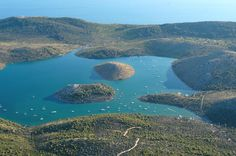 Telascica Nature Park on Dugi otok (Long island), Adriatic sea, Croatia