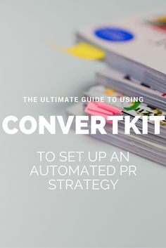 I hope I made you enthusiastic about PR and free publicity, aka the best way to promote and market your business for FREE. Whether you've already started your press attack or you're planning to start soon, read this guide! Because I'll show you exactly how you can use Convertkit in your PR strategy to automate the heck out of your press process.
