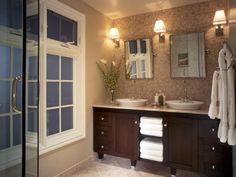dark vanity cabinets - Google Search