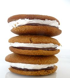 I can't get enough whoopie pie variations! http://www.browneyedbaker.com/2010/07/08/smores-whoopie-pies/
