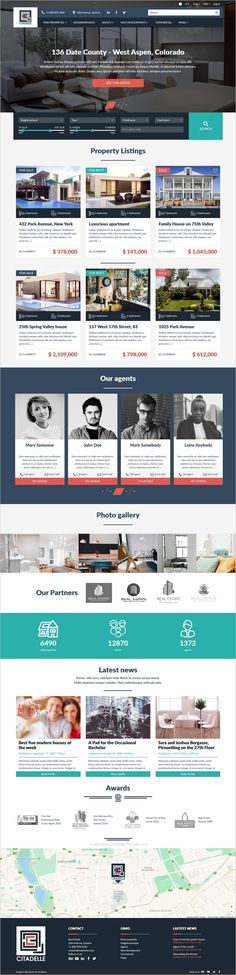 Citadelle is a wonderful #bootstrap template for #realestate agency website download now➩ https://themeforest.net/item/citadelle-fully-responsive-real-estate-template/18575991?ref=Datasata