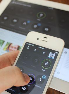 Mobile Apps with Circular Vibe Menus - 22 #circularvibe #mobileuidesign #uidesign #UIUX