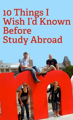 Prepare yourself for studying abroad!