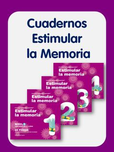Cuadernos para estimular la memoria
