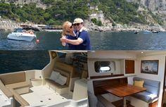 Romantic Dream Yacht Holiday... Embrace the romance of Capri...   Web Site: www.amalfisails.com E-Mail: info@amalfisails.it