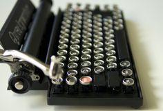 Qwerkywriter Typewriter Inspired Mechanical Keyboard