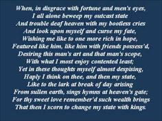 Shakespeare Sonnet 29 - Ron Perlman Again, my favorite Sonnet Sonnet 116, Shakespeare Sonnets, John Donne, Vincent And Catherine, Ron Perlman, Tale As Old As Time, Clear Eyes, Classic Books, Happy Thoughts
