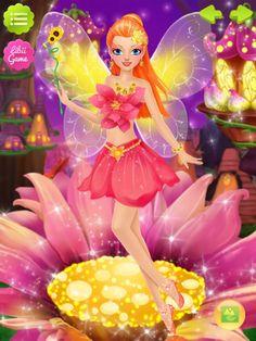 Fairy Salon App by Libii Tech Limited. Makeover Salon Apps. Make-up, dress.