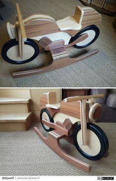 Wooden Kayak, Rocking Horses, Woodworking Workshop, Rockers, Bed Design, Wooden Toys, Diy Furniture, Kids Toys, Building A House