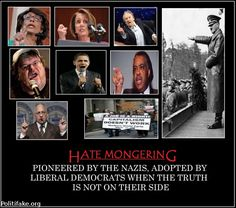 politics DEMOCRAT HATE MONGERING