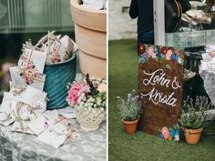 wedding designed signs