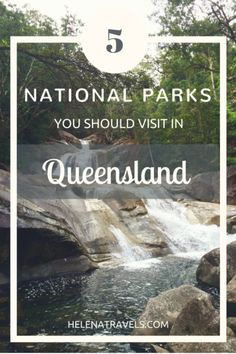 From tropical rainforests to gorgeous waterfalls, Queensland has something to offer for all nature lovers traveling in Australia. Here are five amazing national parks you should visit on a roadtrip to Queensland! Brisbane Queensland, Queensland Australia, Western Australia, South Australia, Victoria Australia, Australia 2018, Great Barrier Reef, Australia Tourism, All Nature