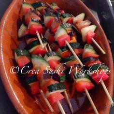 Vegetable sticks by Crea Sushi Workshops