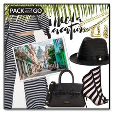 """""""Pack and Go: Cuba!"""" by slynne-messer ❤ liked on Polyvore featuring Melissa Odabash, Oscar Tiye and Bling Jewelry"""