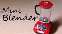 Simple Miniature Blender - Polymer Clay Tutorial