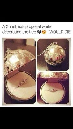 A Christmas proposal while decorating the tree. Christmas is perfect for proposals, so magical! This is such a cute idea Wedding Goals, Our Wedding, Wedding Planning, Dream Wedding, Wedding Table, Event Planning, Propositions Mariage, Christmas Proposal, Winter Proposal