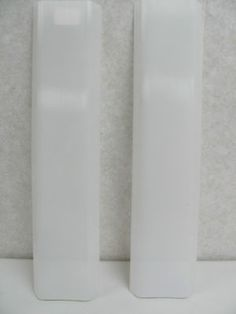 lot of 2 RV Replacement Diffuser Lens, Solid White, Plastic, 18""