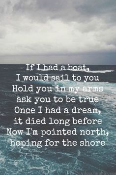 If I had a Boat // James Vincent McMorrow. If you are a fan of Indie's, definitely check this out!!!