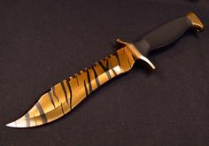 Tiger Tooth Bowie – Tacticool Knives