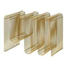 AYTM - Curva Magazine Holder - Gold