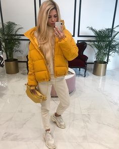Winter Outfits, Casual Outfits, Summer Outfits, Cute Outfits, Fashion Outfits, Womens Fashion, Fashion Vocabulary, Puffy Jacket, Mint