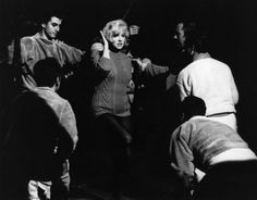 "Marilyn Monroe performing 'My Heart Belongs To Daddy' in ""Let's Make Love"", 1960."
