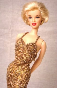 Marilyn Monroe  (Vittoria Porto)- #Barbie #doll