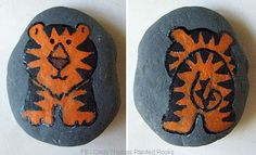 How to Paint Simple, Two-Sided Critters on Stones