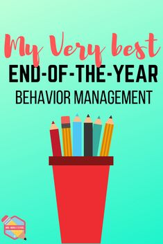 End of the year behavior management- middle school Behavior Management Strategies, Classroom Behavior Management, Behavior Plans, Behavior Charts, 5th Grade Classroom, School Classroom, Classroom Decor, Teacher Resources, Teacher Education