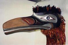Raven Headdress, Pacific NW Coast Indian