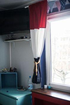 Marynistyczne marynarskie dekoracje pokoju lampa zasłony siatka ryback Jaworzno - image 3
