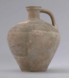 Ewer | Islamic | The Met  Date:8th–9th century Geography:Iran, Qasr-i Abu Nasr Culture:Islamic Medium:Earthenware; unglazed