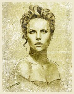 Charlize Theron By Renato Cunha