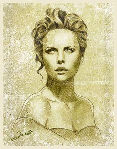 Charlize Theron By Renato Cunha