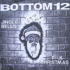 Bottom 12 Jingle Bells F*ck Christmas #Punk 7in Vinyl 1994 Fear Apparition w/Ps #Christmas