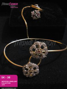 Grab discount on beautiful jewelry collection. We are selling elegantly designed jewelry to give an amazed look to your social gatherings.  PKR: 2200 / USD: $22 ☛{+92-322-3504542}. #Bracelets #Jewelry
