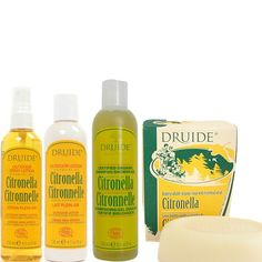 DRUIDE DEET-free Certified Organic Citronella Camping Value Pack. Made in Canada. $34.00